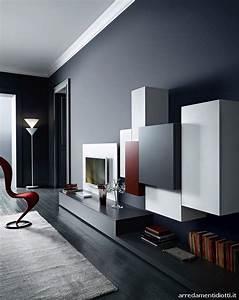 Pareti Attrezzate Moderne  100 Idee Di Design Per Arredare Casa