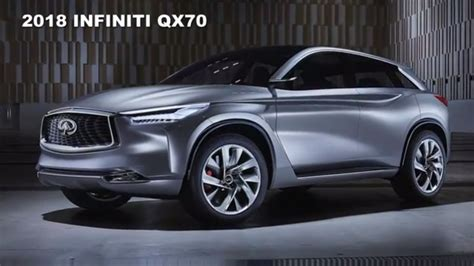2018 Infiniti Qx70 Redesign And Powertrain Upgrade Youtube
