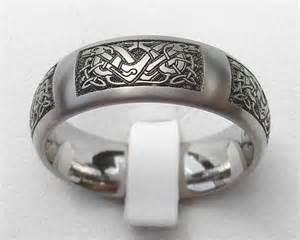 claddagh wedding ring set celtic knot titanium ring for men online in the uk