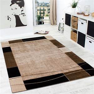 Teppich Wohnzimmer Modern : designer teppich wohnzimmer teppich modern bord re in braun beige preishammer wohn und ~ Sanjose-hotels-ca.com Haus und Dekorationen