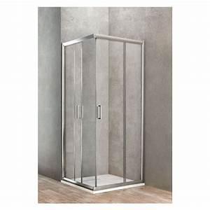 Paroi De Douche 70 Cm : ponsi paroi de douche carr avec porte coulissante 70x70 ~ Melissatoandfro.com Idées de Décoration