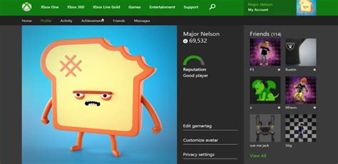 Xbox One Profiles Are Coming To