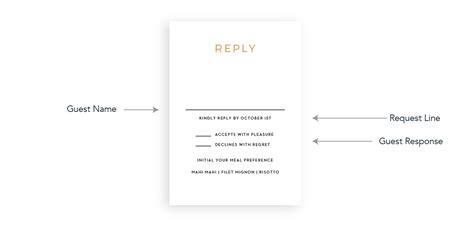 Wedding Invitation Response Cards Sample Wording wedding