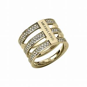 michael kors ladies mkj3780710 ring francis gaye jewellers With mk wedding ring
