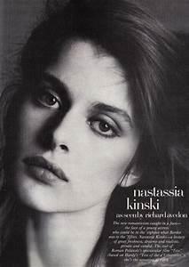 Nastassja Kinski, Richard Avedon, Vogue and python.