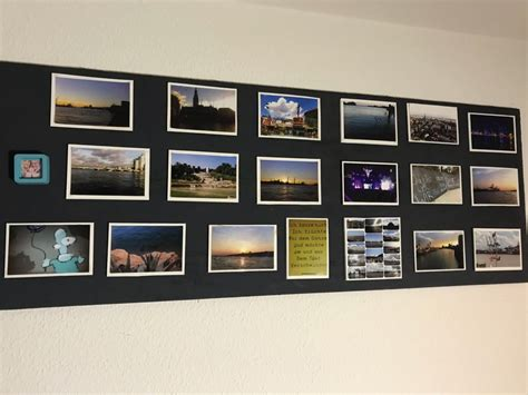 Große Wand Dekorieren by Foto Magnet Wand Do It Yourself