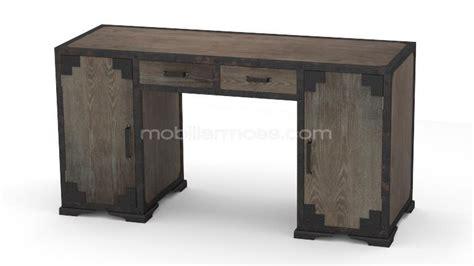 mobilier bureau industriel bureau bois metal mzaol com