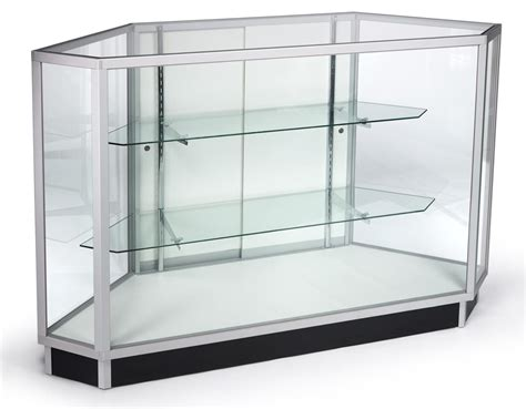 Glass Showcase For Cash Wraps Iev Glass Display Cases