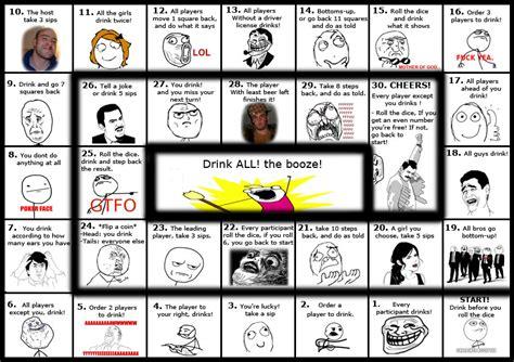 Meme Drinking Game - meme drinking game quiet you
