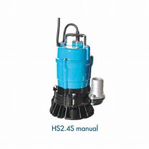 205  Min Heavy Duty Submersible Site Drainage  Hs2