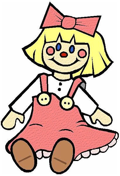 Doll Clipart Toy Dall Cliparts Clip Dolls