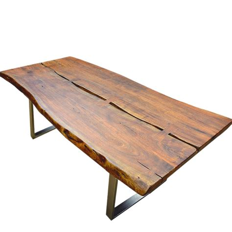 rustic industrial dining table rustic industrial large solid wood live edge dining table
