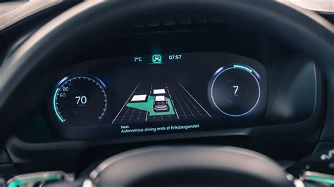 volvo cars reveals safe  seamless user interface