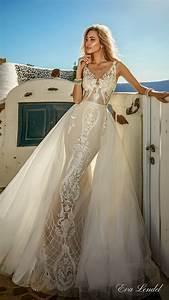 eva lendel 2017 wedding dresses santorini bridal With overskirt wedding dress