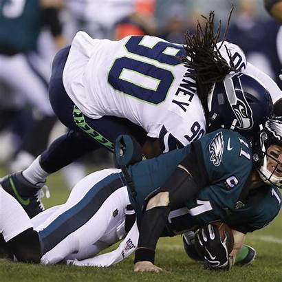 Wentz Carson Clowney Hit Jadeveon Seahawks Report