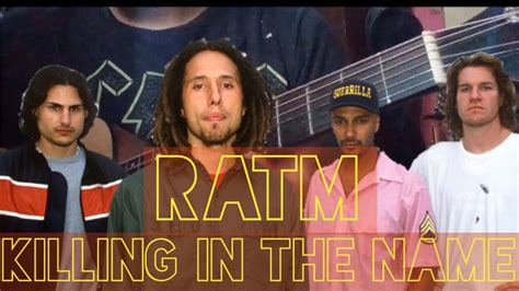 Rage Against The Machine - Killing In The Name ( Guitar ...