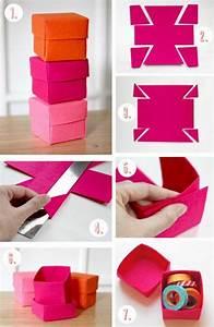 Comment Faire Une Boite En Origami : 1001 id es comment faire une bo te en papier origami simple boite de rangement et tapas ~ Dallasstarsshop.com Idées de Décoration