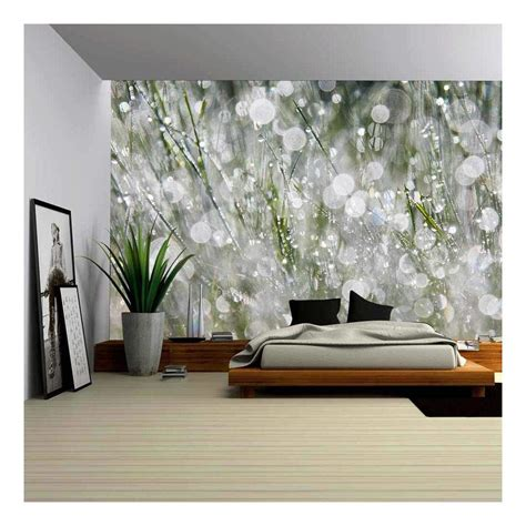 wall26 the morning dew removable wall mural self