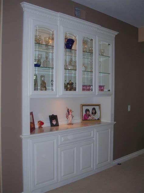 custom  built  china closet  mars custom cabinets