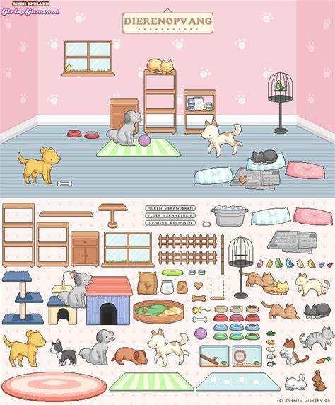 huis inrichten spelletjes dierenopvang inrichten spel funnygames nl