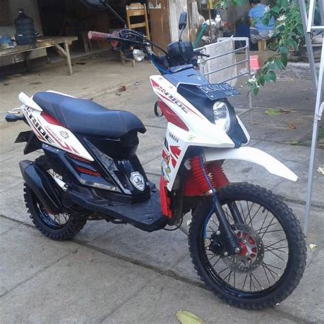 Yamaha X Ride Modifikasi by Modifikasi Yamaha X Ride Trail Adventure Terbaru