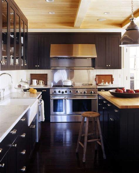 Marble And Butcher Block Countertops by By Ny Designer Robert Stilin Edge Grain Butcher Block