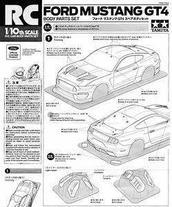 Some New Tamiya Rc Assembly Manuals
