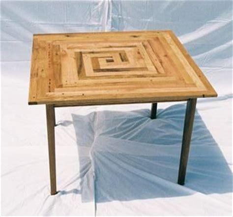 square oak kitchen table custom square oak kitchen table by michael prettenhofer