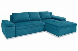 Eckcouch Mit Schlaffunktion Günstig : ecksofa mit schlaffunktion blau sofas zum halben preis ~ Watch28wear.com Haus und Dekorationen