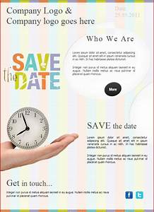 9 best images of save the date email template free save With business save the date templates free