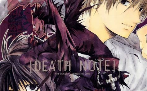 Anime Wallpaper Note by Note Ryuk Yagami Light 1920x1200 Wallpaper Anime