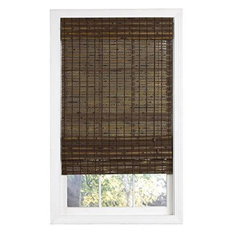 Lewis Hyman 0215488 Havana Bamboo Roman Shade, 27inch