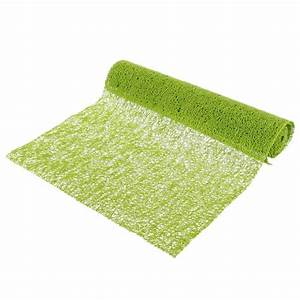 Chemin De Table Vert : chemin de table spaghetti vert anis ~ Teatrodelosmanantiales.com Idées de Décoration