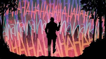 Joker 4k Laugh 1080p Desktop Wallpapers Purple