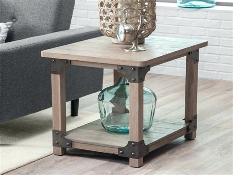 Rustic Coffee And End Tables Ideal For Interior White