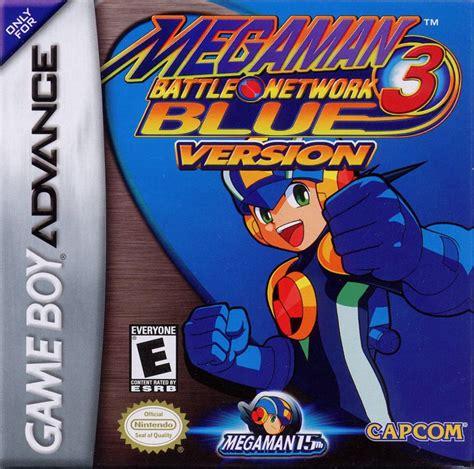 Mega Man Battle Network 3 Blue Version For Game Boy