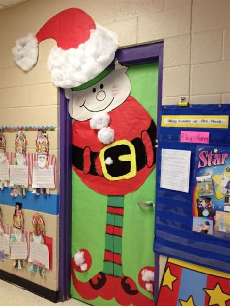 3d christmas door decorations pin by kristin goode on school