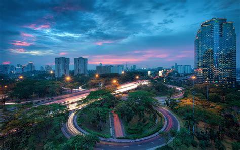 wallpaper indonesia jakarta city houses buildings