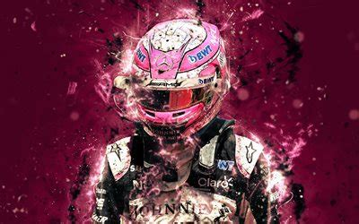 wallpapers  esteban ocon abstract art