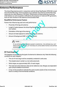 Asyst Technologies Atr9180 Rfid Tag Reader User Manual