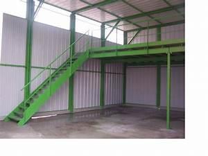 Mezzanine Metallique En Kit : plate forme de stockage mezzanine industrielle abriandco ~ Premium-room.com Idées de Décoration