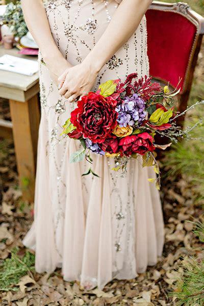 Bold Colorful Wedding Bouquets Bridalguide