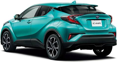 Toyota Chr Hybrid Hd Picture by New Toyota C Hr Hybrid Back Photo Image Chr Rear View