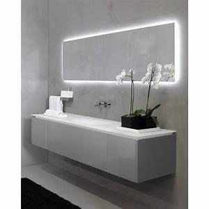 stunning meuble de salle de bain gallery design trends With salle de bain design avec plan vasque castorama