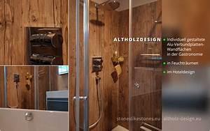 Holz Für Feuchträume : altholz design von stoneslikestones kreative holz paneele bersicht aller produkte ~ Markanthonyermac.com Haus und Dekorationen