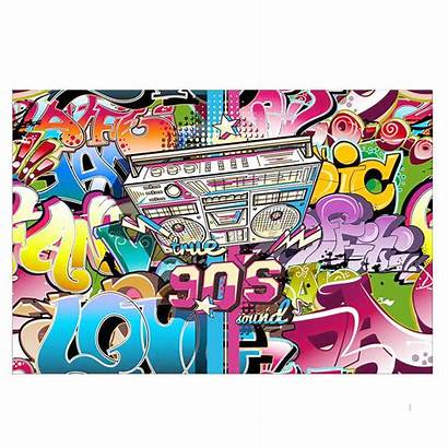 1990s Hop Hip Background Theme Party Prop
