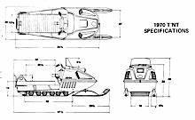 1970-1973 Ski-doo Snowmobiles Technical Data Manual