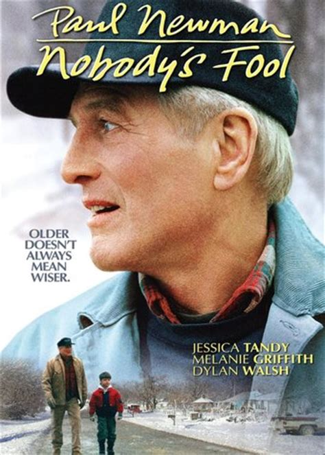 paul newman nobody s fool nobody s fool dvd 1994 starring paul newman directed by