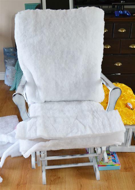 fabric rocking chair for nursery editeestrela design