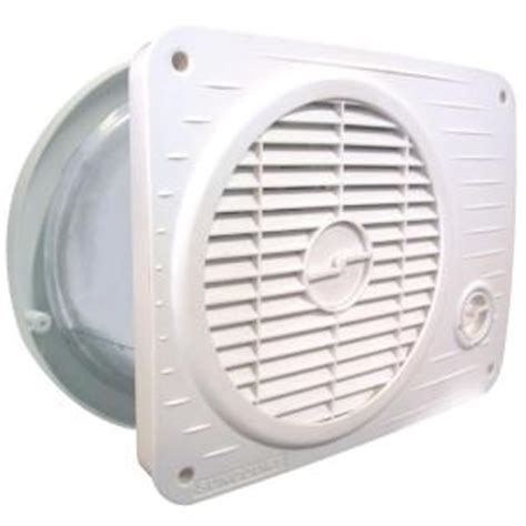 wall fans home depot suncourt thru wall fan hardwired variable speed tw208p